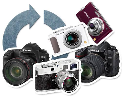カメラのリサイクル・買取