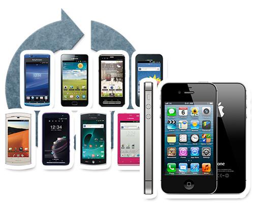 携帯電話・スマートフォン・タブレットのリサイクル・買取