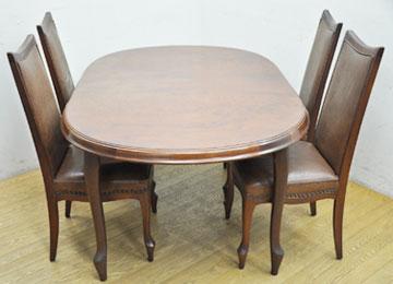 北九州市でマルニ木工のダイニングセットの家具を買取