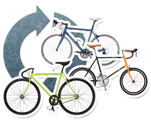 自転車、パーツのリサイクル・買取