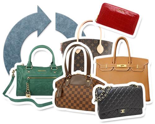 ブランドバッグ・財布のリサイクル・買取