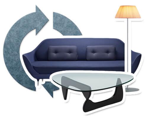 デザイナーズ家具のリサイクル・買取