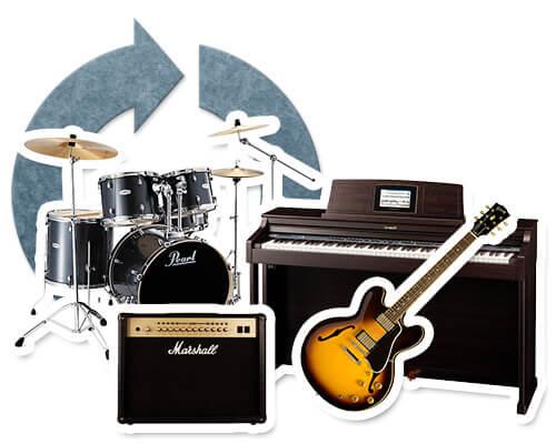 楽器のリサイクル・買取