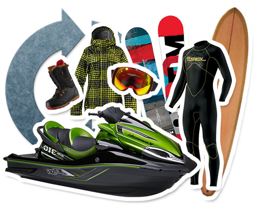 スポーツ用品のリサイクル・買取