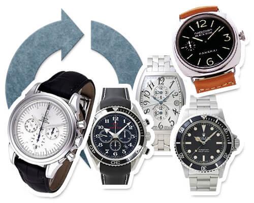 腕時計の買取・リサイクル