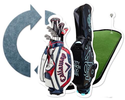 ゴルフ用品のリサイクル・買取
