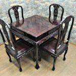 高級唐木ダイニングテーブル セット 食卓台 チェア 椅子 4脚 を買い取りました!(^_-)-☆