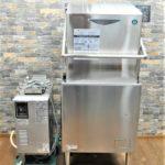 HOSHIZAKI ホシザキ 業務用食器洗浄機 JWE-680A 都市ガスブースター ソイルドシンク付 フルセットを買い取りました!(^_-)-☆