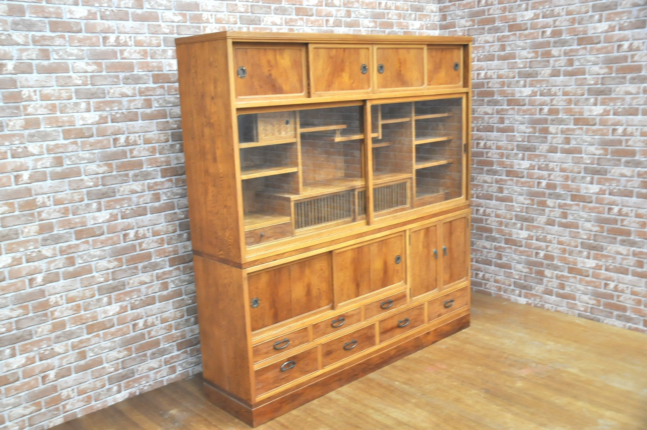 キッチンボード 食器棚 飾り棚 水屋 茶棚 茶道 キッチン 台所を買い取りました!(^_-)-☆