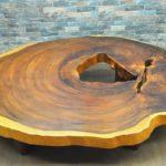 輪切り座卓 食卓台 センターテーブル ダイニングテーブル 木製 無垢材 欅 ケヤキ 杉 天然木 一枚板を買い取りました!(^_-)-☆