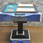 エムテックスマツムラ 全自動麻雀卓セット wak-wak 麻雀 麻雀牌 一式 2色 青 黄 ゲーム