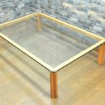 CONDE HOUSE カンディハウス ガラステーブル センターテーブル リビングテーブルを買い取りました!(^_-)-☆