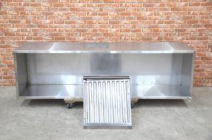 ステンレス レンジフード W2100×D600×H550 業務用 厨房排気 換気扇 キッチンを買い取りました!(^_-)-☆