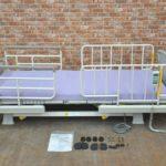 パラマウントベッド 介護用ベッド 楽匠 3モーターシリーズ 100V マットレス付 在宅ケアベッドを買い取りました!(^_-)-☆