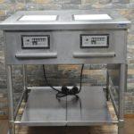 Panasonic パナソニック 電磁調理器 KZ-DK2001 IHクッキングヒーター IHコンロ 2口コンロ 単相200V 業務用を買い取りました!(^_-)-☆