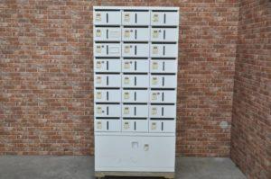 okamura オカムラ メールボックス メールBOX 私書箱 レターボックス 郵便 H1815×W900×D450 鍵付 ダイヤルロックを買い取りました!(^_-)-☆