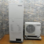 TOSHIBA 東芝 家庭用ヒートポンプ給湯機 HWH-B375 2017年製 エコキュート 370L 貯湯タンク 自然冷媒 CO2 ベーシック