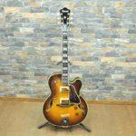 Ibanez アイバニーズ ARTSTAR アートスター ギター AF200 フルアコ エレキギター 日本製 スタンド付 弦楽器 超美品♪を買い取りました!(^_-)-☆