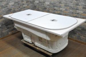 TOTO 浴槽 W1640×D820×H560 お風呂 浴室 バス 風呂釜 ふろがまを買い取りました♪(^_-)-☆