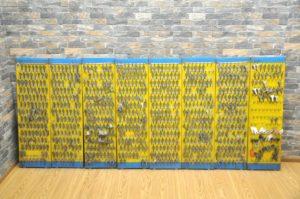 ブランクキー スペアキー 鍵 合鍵 鍵屋 家 建物 ボード 一式 セット まとめて 大量 未加工 未使用品を買い取りました!(^_-)-☆