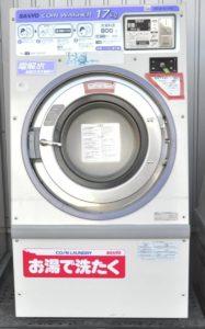 SANYO サンヨー コイン式全自動洗濯機 SCW-5174C 17kg 三相200V コインランドリーを買い取りました♪(^_-)-☆