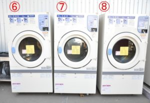 SANYO サンヨー コイン式ガス乾燥機 SCD-3251GC 3台セット 三相200V LPガス プロパンガス コインランドリーを買い取りました♪(^_-)-☆