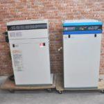 HITACHI 日立 窒素ガス発生装置 NPO-0.735GX エアーコンプレッサー HD-8N2XA 三相200V 60Hz N2パックを買い取りました(^_-)-☆