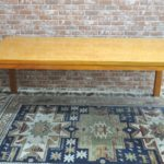 MORISHIGE モリシゲ ダイニングテーブル 4人掛け バーズアイメープル 天然木を買い取りました(^_-)-☆