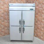 HOSHIZAKI ホシザキ 縦型冷凍冷蔵庫 HRF-120XF3 業務用4ドア W1200×D810×H1900 冷凍ストッカー フリーザー