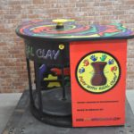 メキシコ製 PLAY WITH REAL CLAY リアルクレイ 轆轤 ろくろ 手動式 芸術 陶芸 粘土 轆轤を買い取りました(^_-)-☆