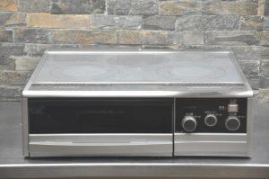 MITSUBISHI ミツビシ 電磁調理器 CS-G39CS 単相200V IHクッキングヒーター IHコンロ 3口 幅59cm 両面焼きグリル 家庭用を買い取りました(^_-)-☆