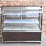 大穂 冷蔵ショーケース OHGP-Tb-1200B 2017年製 100V 冷蔵庫 ブラウン 業務用を買い取りました(^_-)-☆