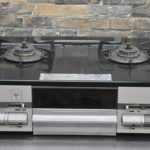 NORITZ ノーリツ ガスコンロ NLG2280Q1LGM ガステーブル 2口 都市ガス 水無し片面焼き 家庭用を買い取りました(^_-)-☆