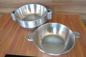 SUS 444 ステンレス 日本製 なべ 鍋 10個セット Φ23.5㎝ しゃぶしゃぶ 鍋もの もつなべ を買い取りました(^_-)-☆