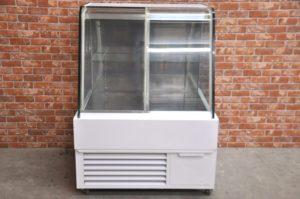 FUJIKOKI 不二工機 冷蔵ショーケース W885×D800×H1210 ディスプレイ 対面 ガラス ケーキ 菓子 業務用を買い取りました♪(^_-)-☆
