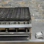 たこ焼き機 φ4.5cm 32個×2連 都市ガス 業務用を買い取りました♪(^_-)-☆