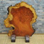 高級 唐木 花梨 玉杢 無垢材 衝立 飾り板 敷板 一枚板を買い取りました♪(^_-)-☆