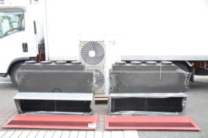 ダイキン パッケージエアコン FHBP112A 8馬力 ビルトイン ツイン 外機 内機 厨房 業務用を買い取りました♪(^_-)-☆