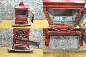 WATERFORD ERIN 90 OSA ウォーターフォード 薪ストーブ 暖炉 レッド レジナルズタワー アイルランド 海外製を買い取りました♪(^_-)-☆