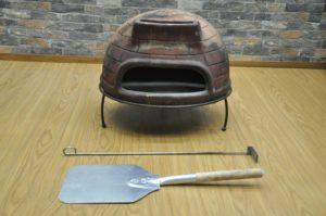 ピザ窯 石窯 オーブン 暖炉 ストーブ 屋外 アウトドア キャンプ 小型 卓上を買い取りました♪(^_-)-☆