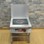 MARUZEN マルゼン 電磁調理器 MIHL-SK06C IHクリーンスープレンジ IHコンロ 1口 2015年製 三相200V 業務用を買い取りました♪(^_-)-☆