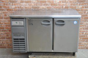 フクシマ 台下冷蔵庫 YVC-120WM2-F 2017年製 業務用2ドア コールドテーブル 厨房を買い取りました♪(^_-)-☆