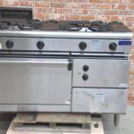 MARUZEN マルゼン 業務用オーブン付ガステーブル RGR-1264C 2016年製 都市ガス 4口 オーブンレンジ ガスコンロを買い取りました♪(^_-)-☆