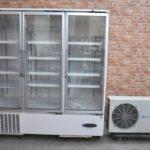 HOSHIZAKI ホシザキ リーチイン冷蔵ショーケース USR-180X3-1H 1473L コンデンシングユニット付 業務用を買い取りました♪(^_-)-☆