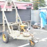 FLEXIBLE POWER BUCKET MACHINE EX-9HP フレキシブル パワーバケットマシン ウインチ 大型 業務用 作業 工事を買い取りました♪(^_-)-☆