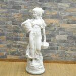 石像 高さ70cm 置物 オブジェ インテリア 芸術 全身 デッサン アート 彫刻 ガーデン 西洋美術を買い取りました♪(^_-)-☆