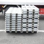 アルミ製ローラーコンベヤ 60本 セット 幅10.5cm 長さ176cm ローラーコンベアー ストレート 業務用を買い取りました♪(^_-)-☆