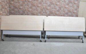内田洋行 ミーティングテーブル 4台セット JOIFA307 折り畳み式 キャスター付きを買い取りました♪(^_-)-☆