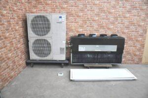 MITSUBISHI ミツビシ パッケージエアコン PDZ-ERP160FD 6馬力 スリムER 天井ビルトイン形 業務用を買い取りました♪(^_-)-☆