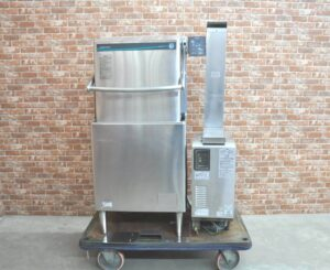 HOSHIZAKI ホシザキ 業務用食器洗浄機 JWE-680B 2015年製 三相200V 60Hz ガスブースター WB-25H-JW 都市ガスを買い取りました♪(^_-)-☆